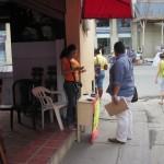 4. Bild – Telefontisch in Kolumbien