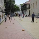 5. Bild – Kampange gegen weggeworfene Zigarettenkippen in Cartagena