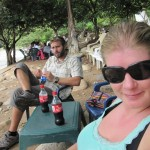 Am Ufer des Rio Guatapuri
