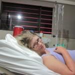 Angie im Bettchen
