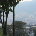 Blick über die Südstadt von Medellin