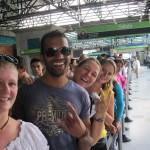 Unsere kleine Reisegruppe-Angie, Jehan, Tine, Miranda