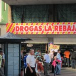 Medikamente heißen komischerweise DROGAS…wie passend in Kolumbien