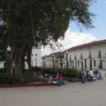 Plaza in Popayán