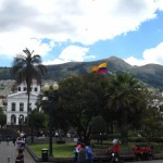 Plaza in Quito