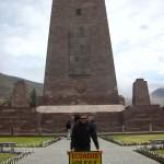 Ich bin am Äquator