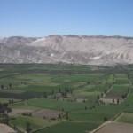 Landschaft bei Arequipa in Perus Süden