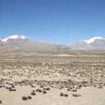 Wüste an der Grenze zu Chile