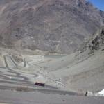 hinauf zum Grenzübergang Chile – Argentinien