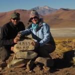 4.855 m – höchster Punkt der Reise