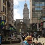 Montevideo…Blick zur Plaza Indepedenzia