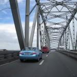 Fahrt über die Harbour Bridge