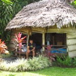 Unser Gartenfale in Apia