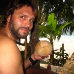 hmmm lecker…frische Kokosnuss