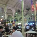 Gutes Essen im Lau Pa Sat Hawker Centre