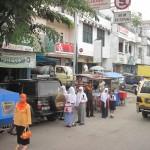 Straßenbild in Sumatra