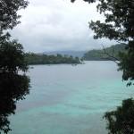 Blick von unserer Terrasse auf Pulau Weh