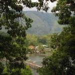 netter Ausblick am Lake Toba