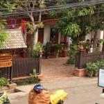 Luang Prabang vom Hotel aus