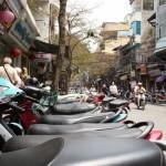 Hanoi – und seine Mopeds