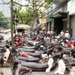 Mopeds in Hanoi