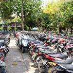 Parc de la cyclomoteur