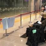 Danke für die Wäscheleine an die malaysische Eisenbahn