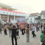 Bewegung tut gut und ist bei Chinesen beliebt (Dali)