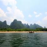 Karstberge am Li-Fluss