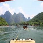 Auf dem Li-Fluss