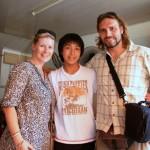 Sho aus Japan – spielt demnächst Saxophon mit seiner Band in Grimma