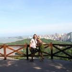 Auf dem Aussichtspunkt in Zhuhai
