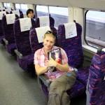 Im D-Zug nach Hangzhou