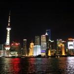 Skyline von Pudong
