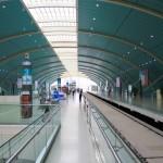 Im Transrapidbahnhof