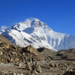 Mt. Everest vom Basecamp aus