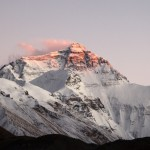 Mt. Everest beim Sonnenuntergang