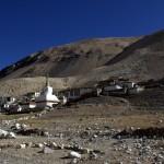 Höchstes Kloster der Welt – Rongphu Monastery in der Nähe des Basecamp