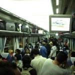 Im Zug nach Chengdu