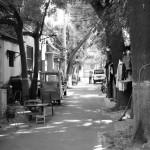 Seitenstraße in der Nähe der Verbotenen Stadt