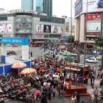 Ein normaler Tag in Chengdu
