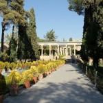 Der Garten in dem der Dichter Hafez sein Grab hat / Shiraz