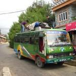 Unser Bus zur indischen Grenze