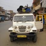 Das Sammeltaxi nach Gorakhpur