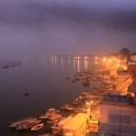 Varanasi – Blick auf den Ganges