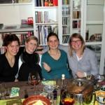 Die vier Mädels vom Grill