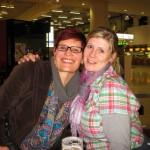 Frankfurt Airport Alex & Angie