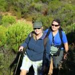 Nannette und Angie beim Wandern