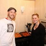 Heute Lasagnekochmeisterschaften – Die Kontrahenten Barbara und Yanik