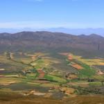 Route 62 – Blick vom Rooibergpass in die Klein Karoo
